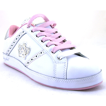 Life Instinct White/Pink/Silver Trainer