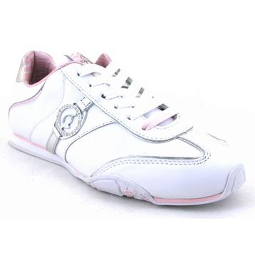 Endo Lita White/Pink/Silver Trainer