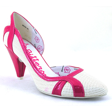 Pink Court Shoe