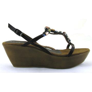 Pamira Vaquero Strappy Wedge Sandal
